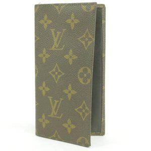 Louis Vuitton Checkbook Long Wallet Bifold